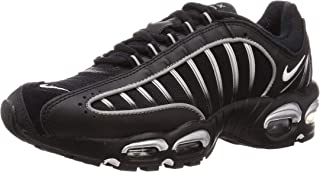 Men's Air Max Tailwind 4 Casual Shoes (11.5, Black/White/Metallic Silver/Reflect)