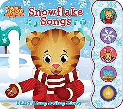 Snowflake Songs: Daniel Tiger's Neighborhood (Early Bird Sound Book 5 Button)