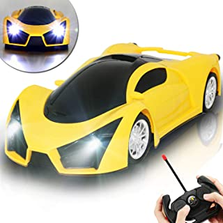 Kulariworld RC Cars Toys for Kids Drift Remote Control Car High Speed 1/16 Scale Super Vehicel Racing Hobby with Led Lights Best Xmas Birthday Gifts for Boys Girls