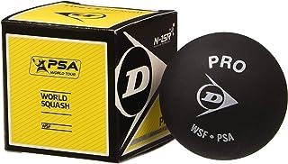Dunlop DLOP-700108 Revelation Pro Double Dot Squash Ball, Black