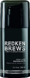 Redken Brews Work Hard Molding Paste, 100ml