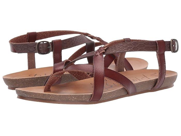Blowfish  Granola-B (Whiskey Dyecut/Tobacco Snake Charmer) Womens Sandals
