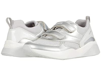 Geox Kids Sinead 7 (Little Kid/Big Kid) (Silver) Girl