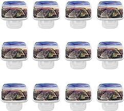 12 Pack ronde keukenkast knoppen trekt (1,18 diameter) - stad - dressoir lade/deur hardware - DIY patroon aanpassing