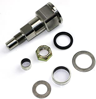 Mercruiser 304 Stainless Steel Upper Steering Swivel Shaft Pin Barvo/Alpha Replaces 98230A1 / 866718A01 with Hardware Kit