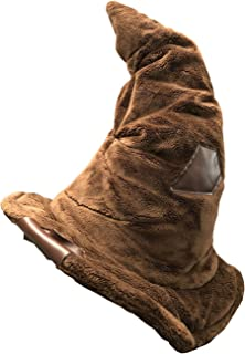 Harry Potter Plush Sorting Wizard Hat/Throw Pillow - Officially Licensed Brown