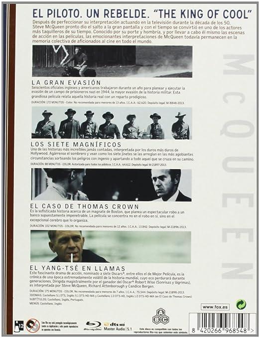 Coleccion Steve Mcqueen - Blu-Ray [Blu-ray]: Amazon.es: Steve ...