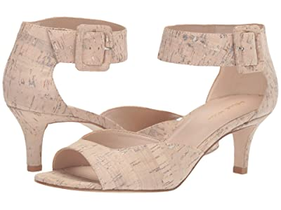 Pelle Moda Berlin (White Washed Cork) High Heels