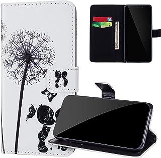 JAWSEU Kompatibel med Samsung Galaxy S20 fodral, Samsung S20 mobiltelefonfodral läderfodral, PU läder väska flip fodral pl...