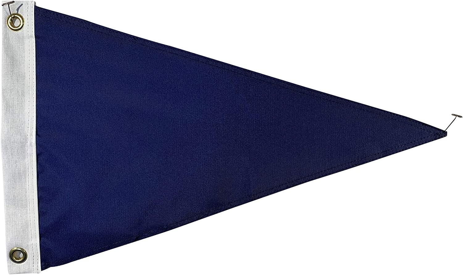 Super sale period limited Set of 12 Blank Old Glory Blue 12x18 Nylon Cheap Size Pennant - Flags