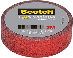 Scotch Expressions Glitter Tape, 0.59