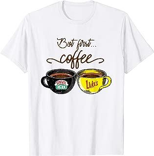 Ok But First Coffee T-shirt Women Caffeine Lover Funny Gifts T-Shirt