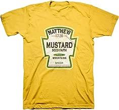 Kerusso Men's Mustard Seed - Faith Moves Mountains T-Shirt - Daisy -