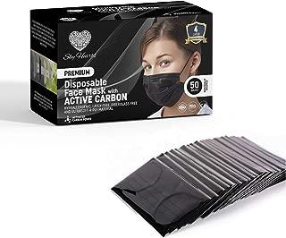 Best carbon face mask 4 ply Reviews