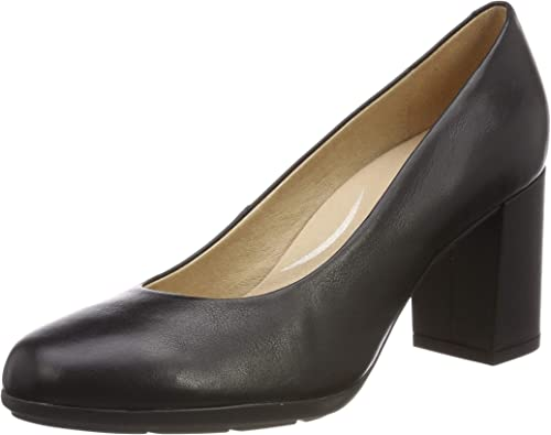 Geox D New Annya A, Zapatos de Tacón Mujer