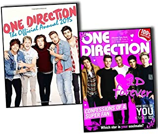 One Direction Official Annuals 2015 2 Books Collection Pack Set- (One Direction: The Official Annual 2015, One Direction Ultimate Fan Book, One Direction Poster and 1D 2015 Wall Calendar) (Hardcover)