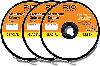 Rio Fly Fishing Tippet Steelhead/Salmon Tippet 3-Pack 10 Fishing Line,12 Fishing Line,16Lb Fishing Line, Clear