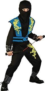 Katara 1771 Taglia S 3-5 anni Costume ninja pink-nero travestimento bambini tuta bimbi guerriero