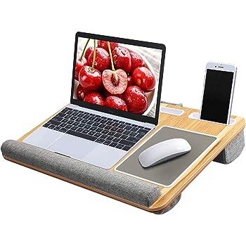 膝上 テーブル ベッドテーブル 枕 ノートパソコン タブレット用 PCテーブル ラップトップデスク パソコンデスク