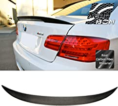 AeroBon Real Carbon Fiber Trunk Spoiler for 05-13 BMW E92 3-Series Coupe and M3 (Performance Type)