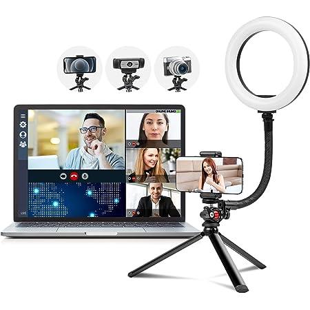 2021 Ringlicht Mit Stativ Für Handy Und Webcam 8 Kamera