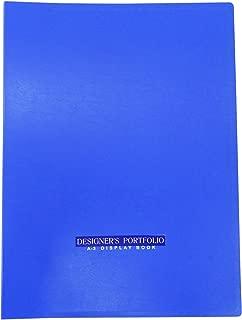 40 Pockets Document Display Book A3 Size Office Supplies Presentation File Folder Portfolio Organiser Pack Of 1