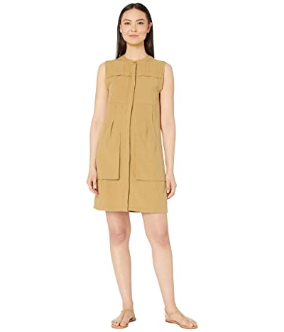 NAU Flaxible Sleeveless Dress (Nutmeg) Women