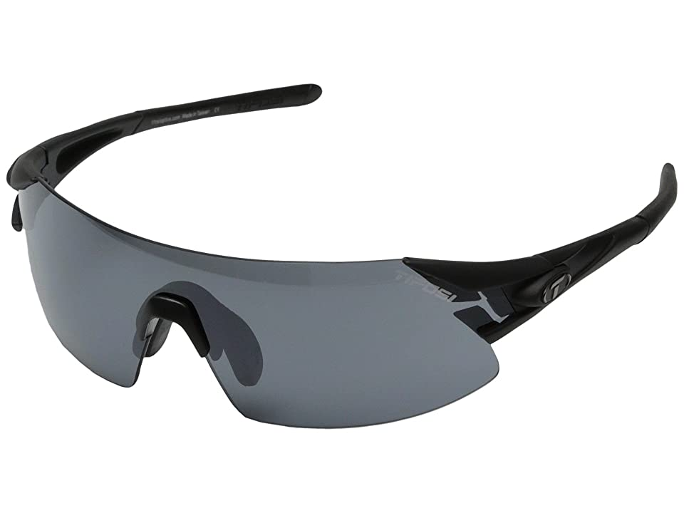 Tifosi Optics Podiumtm XC Interchangeable (Matte Black) Athletic Performance Sport Sunglasses