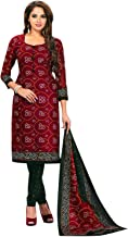 Ethnic Traditional Printed Pure Cotton Salwar Kameez Suit Womens Dress Indian Ready to wear