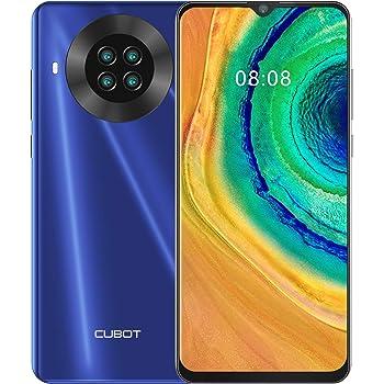 CUBOT Note 20 Smartphone 4G teléfono móvil Libre Android 10 6,5 Pulgadas 64GB ROM 4200mAh Dual Cámara Dectilar de Huellas/Face ID GPS WiFi Dual SIM, Azul: Amazon.es: Electrónica