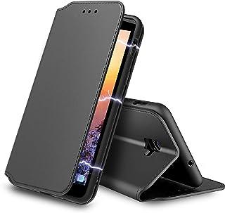 AURSTORE Etui Coque pour Samsung Galaxy Xcover 4,Coque Xcover 4s Protection Housse en Simili Cuir [Emplacements Cartes],[F...