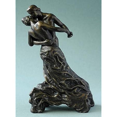 Pocket Art dapr/ès un dessin dAuguste Rodin #pa20 Miniatur Sculpture Le Secret // La Main