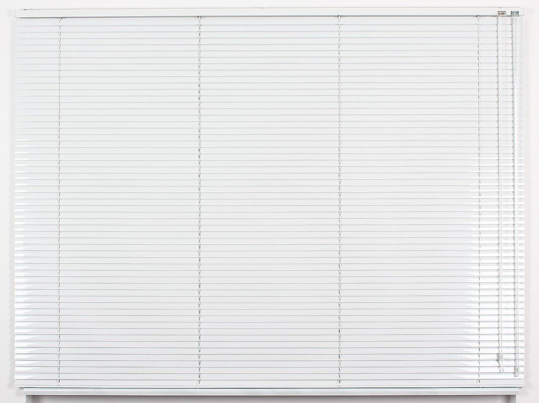 EFIXS Alu-Jalousie - Farbe  weiss - Hhe  160cm - Breite im Angebot whlbar - hier  230 x 160 cm (Breite x Hhe) - Aluminium-Jalousie