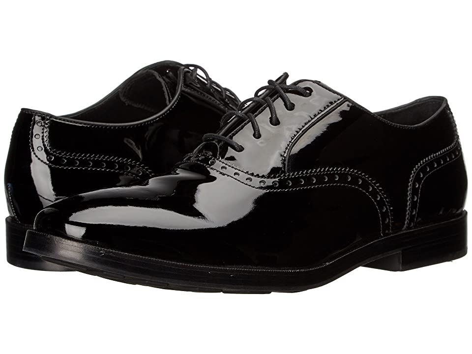 Cole Haan Hamilton Grand Plain (Black Patent) Men
