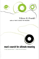 Man's Search For Ultimate Meaning (English Edition) eBook Kindle
