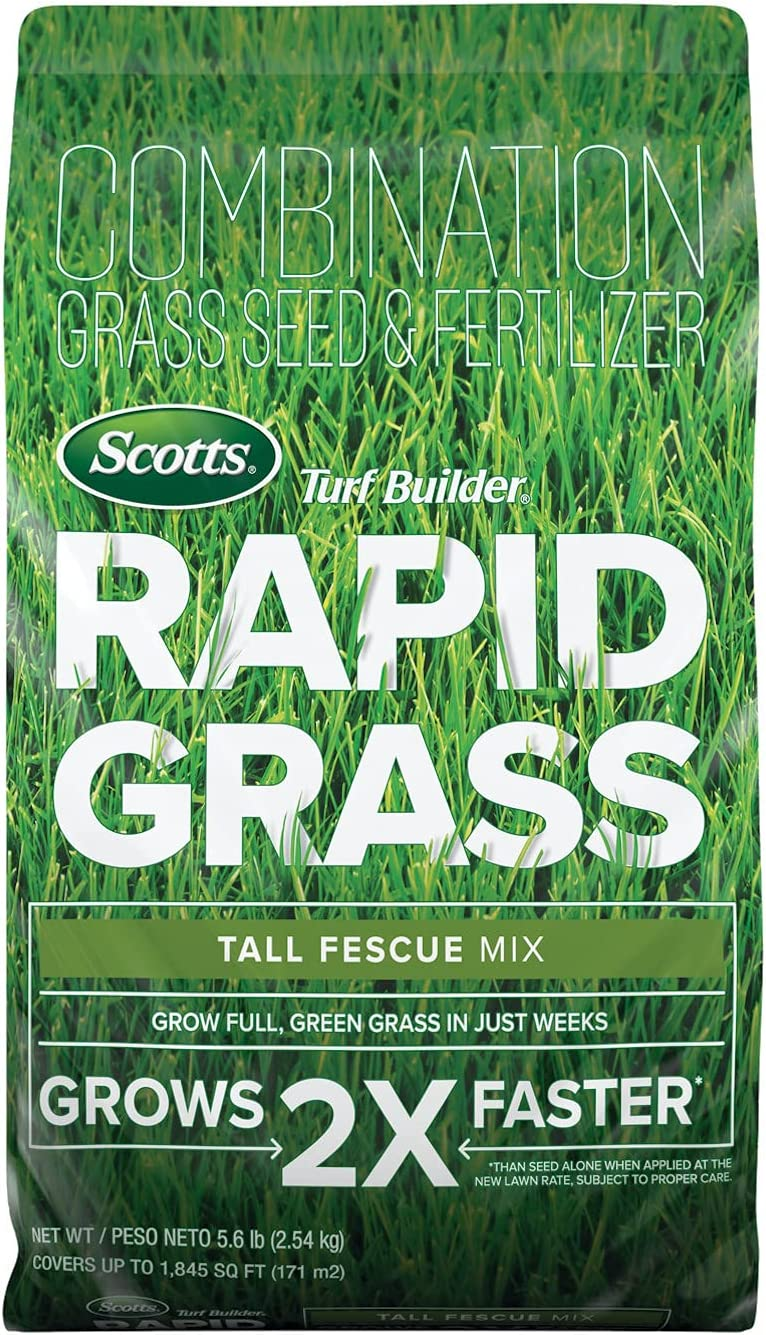 Scotts 18222 Minneapolis Mall Turf Builder Rapid Grass Tall to Mix: up Sale Fescue 1 8
