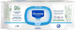 Mustela Cleansing Wipes Fragranced, for Normal Skin, x70