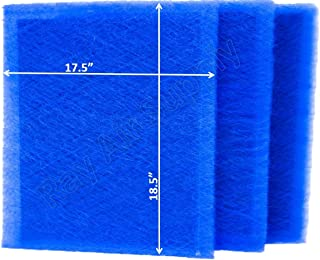 RAYAIR SUPPLY 20x20 Dynamic Air Cleaner Replacement Filter Pads (3 Pack)
