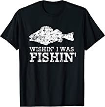 Wishin' I Was Fishin' Shirt, Fishing Fisherman Father Gift