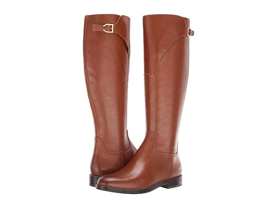Cole Haan Harrington Grand Riding Boot (British Tan Leather) Women