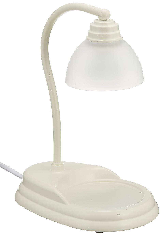 細菌水星ラック電球の熱でキャンドルを溶かして香りを楽しむ電気スタンド キャンドルウォーマーランプ (ホワイト)