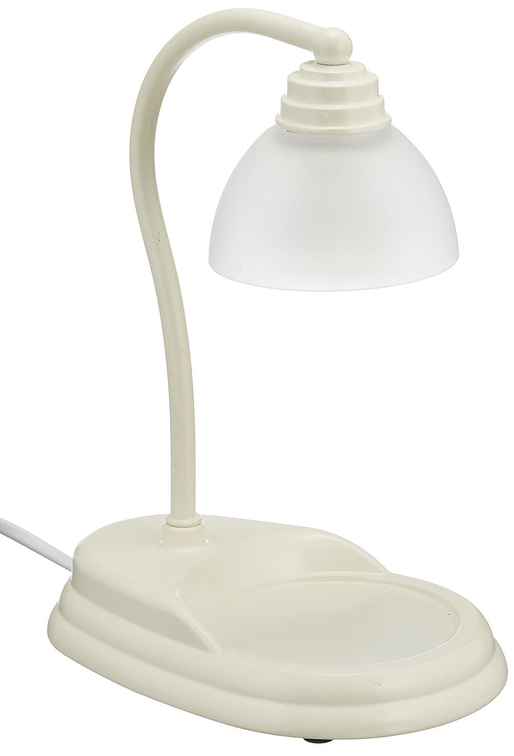 フォアタイプ聖域ビン電球の熱でキャンドルを溶かして香りを楽しむ電気スタンド キャンドルウォーマーランプ (ホワイト)
