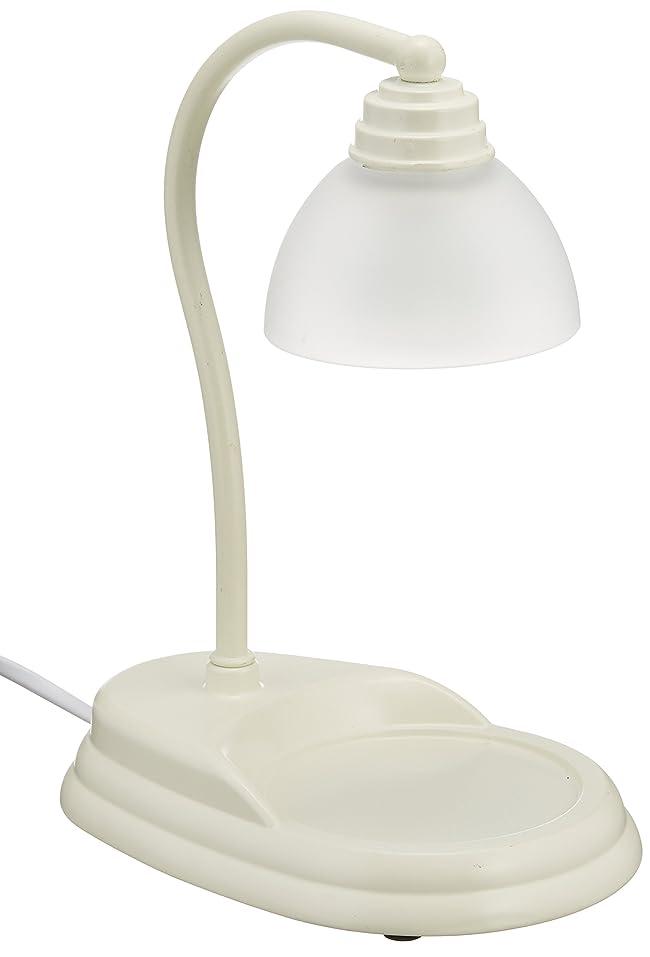 ステレオタイプ笑いどれか電球の熱でキャンドルを溶かして香りを楽しむ電気スタンド キャンドルウォーマーランプ (ホワイト)