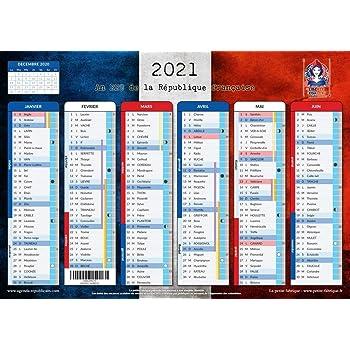 Calendrier Républicain 2021 Calendrier Républicain 2021   format A4   papier épais, prévu pour