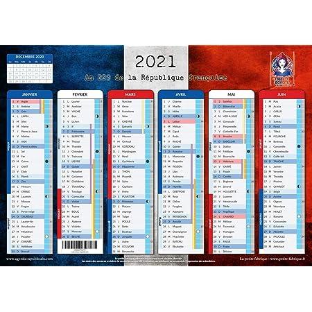 Calendrier Républicain 2022 Calendrier Républicain 2021   format A4   papier épais, prévu pour