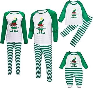 Matching Family Pjs Christmas Entire Family Jammies Cotton Pajamas Sets Best Kids Sleepwear Xmas A17