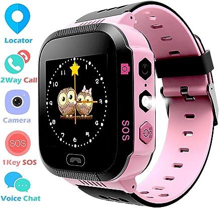 Kids GPS Tracker Watch for Boys Girls - Smart Wrist Watch...