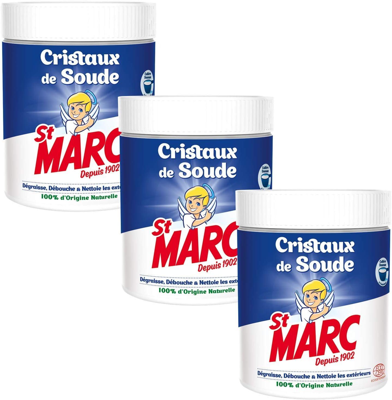 Photo de st-marc-cristaux-de-soude-500-g-lot-de-3