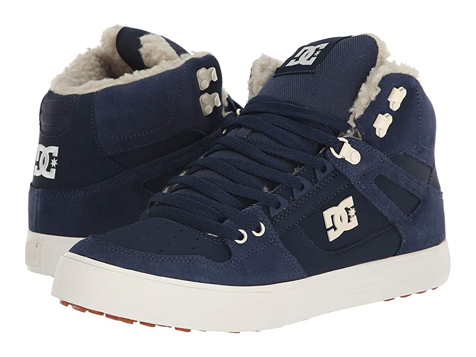 DC Pure High-Top WC WNT (Navy/Khaki) Men