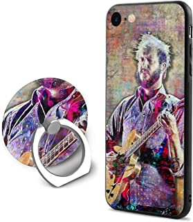 GaoQunShafgd Bon Iver The Phone Case is Suitable for iPhone 7/8 (4.7 Inch) Exquisite and Interesting Pattern,Protector Case PC Back Can Be Rotated 360,Ring Bracket Shockproof Protection